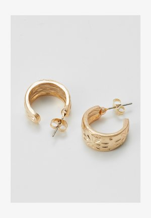 HOOP EARRINGS 3 PACK - Oorbellen - gold-coloured