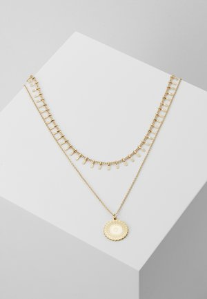 PCBONE COMBI NECKLACE 2 PACK - Necklace - gold-coloured