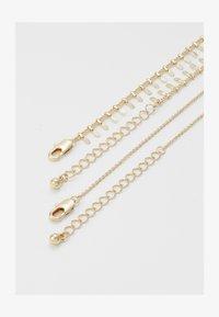 Pieces - PCBONE COMBI NECKLACE 2 PACK - Collier - gold-coloured - 1