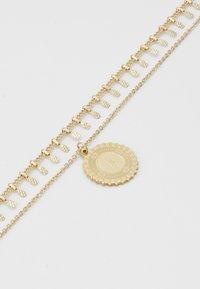Pieces - PCBONE COMBI NECKLACE 2 PACK - Collier - gold-coloured - 2