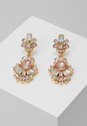 PCSUMMERA EARRINGS - Earrings - gold-coloured/champagne