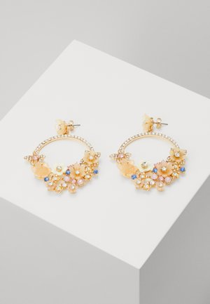 PCBUTTERFLY EARRINGS - Øreringe - gold-coloured