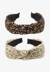 Pieces - PCMACCA HAIRBAND 2 PACK - Haaraccessoire - black