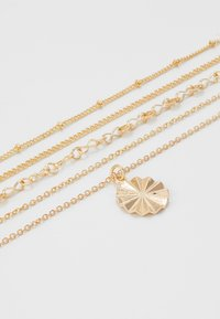 Pieces - PCKRYSTAL COMBI NECKLACE - Necklace - gold-coloured - 4