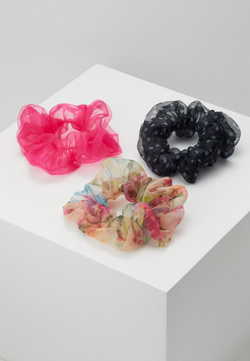 Pieces - SCRUNCHIE 3 PACK - Hair styling accessory - prairie sunset