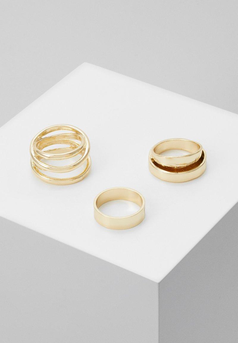 Pieces - PCRINKO 3 PACK - Ringar - gold-coloured