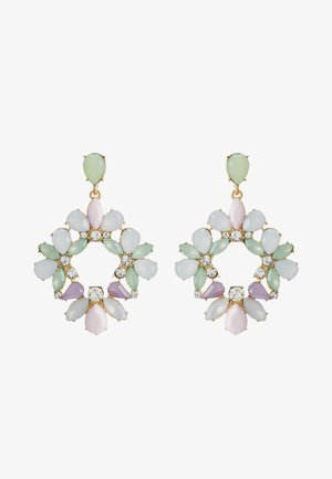 PCPASTEL EARRINGS - Earrings - gold-coloured/multicoloured