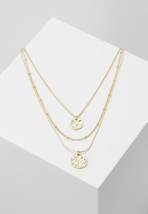 PCZENDIA COMBI NECKLACE KEY - Smykke - gold-coloured