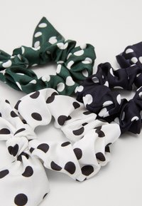 Pieces - PCDOTTY SCRUNCHIE 3 PACK - Haaraccessoire - navy blazer/white/army