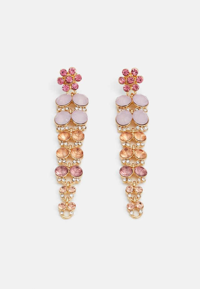 PCGLITTIA EARRINGS - Boucles d'oreilles - gold-coloured/multi