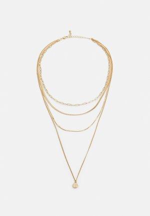 PCULLA COMBI NECKLACE D2D KEY - Náhrdelník - gold-coloured