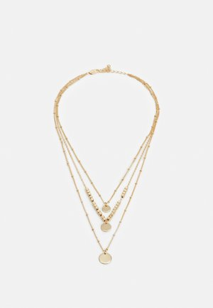 PCSANYA COMBI NECKLACE - Collana - gold-coloured