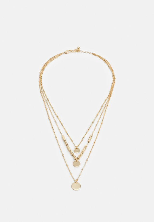 PCSANYA COMBI NECKLACE - Collier - gold-coloured