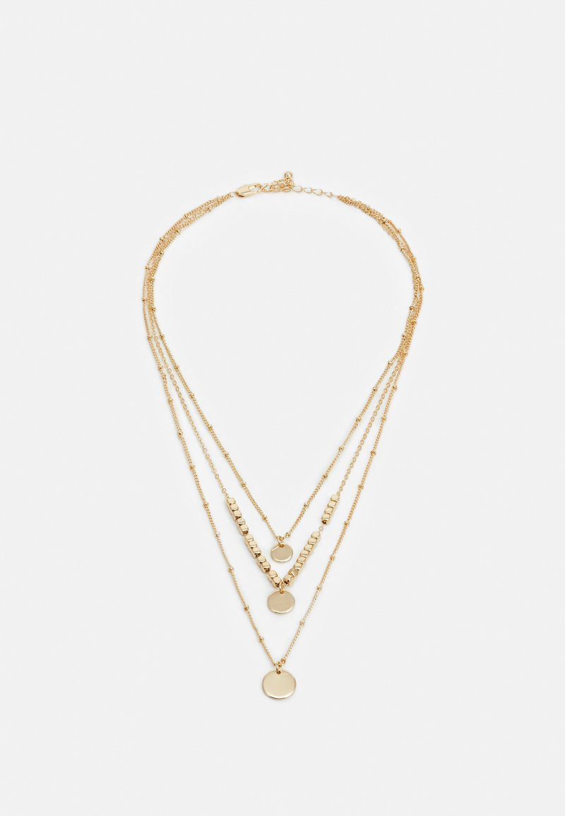 Pieces - PCSANYA COMBI NECKLACE - Necklace - gold-coloured