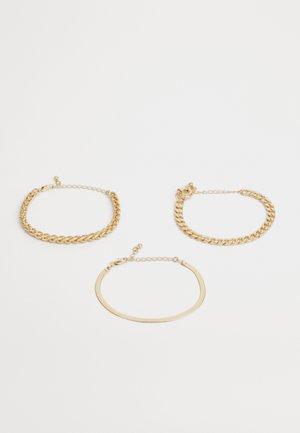 PCKAMELIA BRACELETS 3 PACK - Armband - gold-coloured
