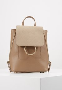 Pieces - PCEMMA BACKPACK - Batoh - toasted coconut - 0