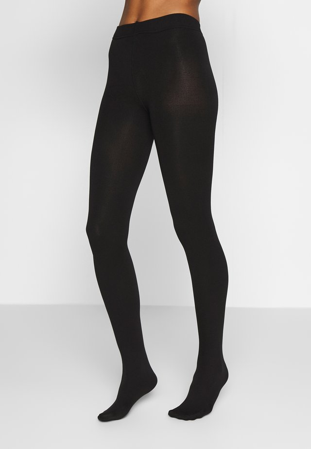 PCKAYA TIGHTS - Strumpbyxor - black