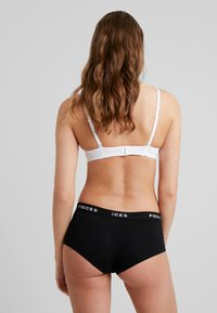 Pieces - LOGO LADY SOLID 4 PACK - Panty - black - 2