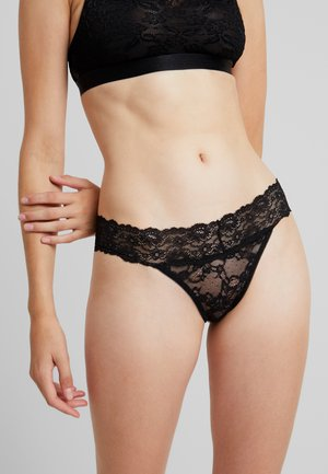 PCISILLE THONG  - Stringit - black