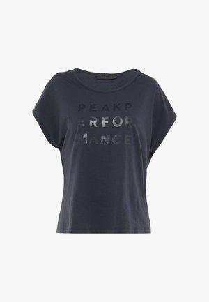 GROU CAP - T-shirt z nadrukiem - blue shadow