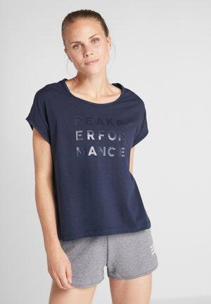 GROU CAP - T-shirt imprimé - blue shadow