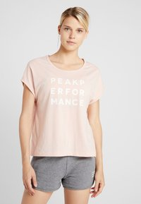 Peak Performance - GROUND - T-shirt imprimé - pink champagne - 0