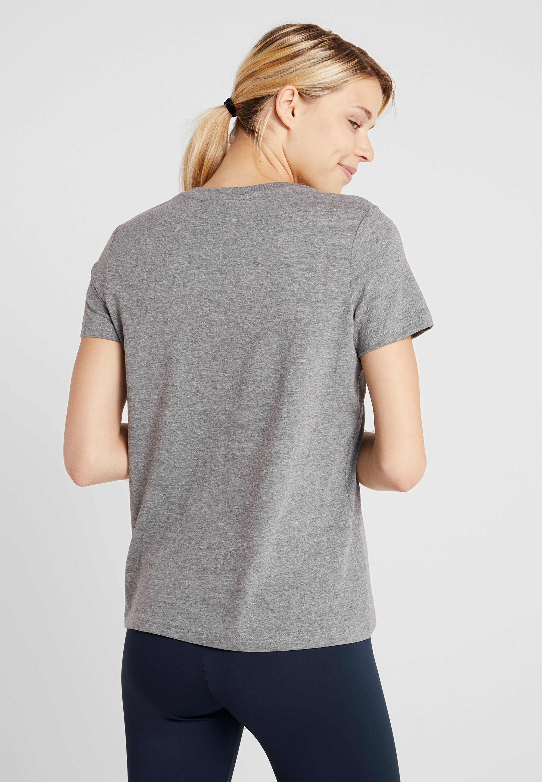 Peak Performance GROUNDT - T-shirt imprimé grey melange