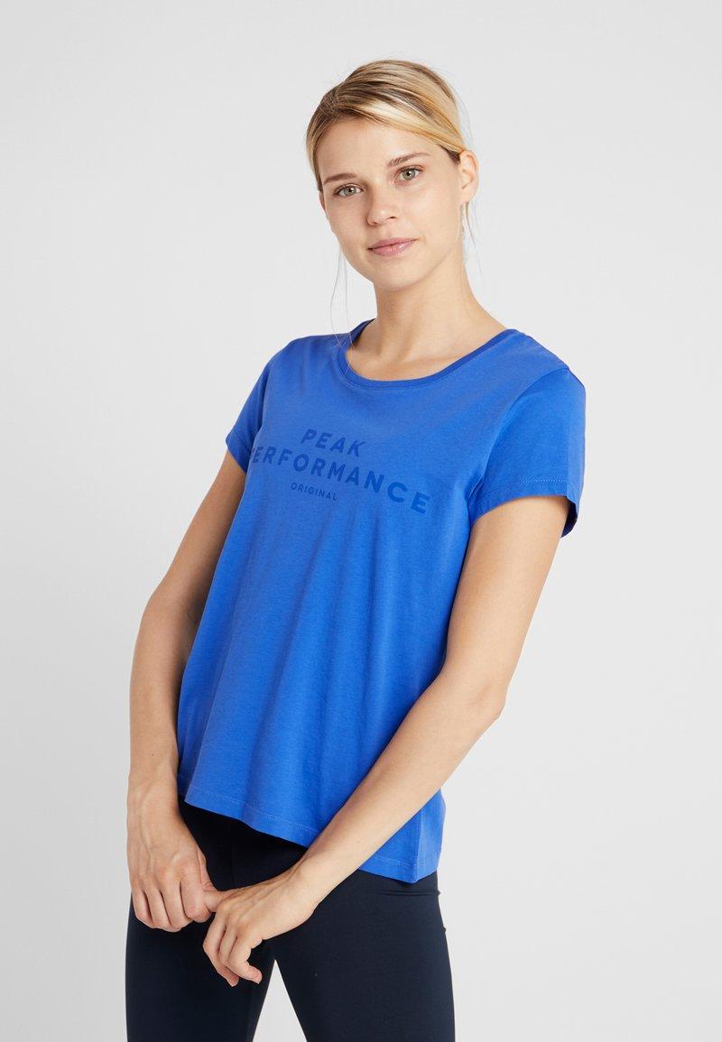 Peak Performance - TEE - T-Shirt print - bay blue