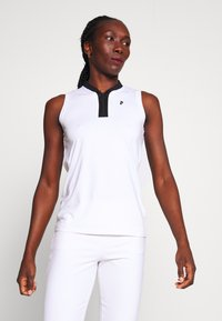 Peak Performance - TURF ZIP - Polo shirt - white - 0