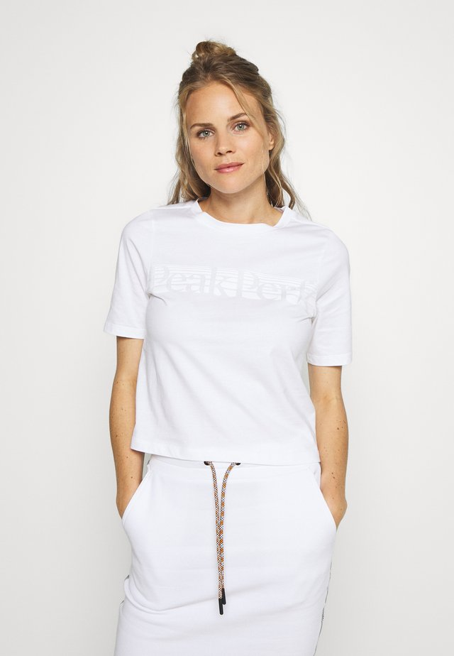 BOUNCE TEE - T-Shirt print - white