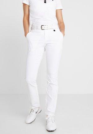 SWINLEY - Trousers - white