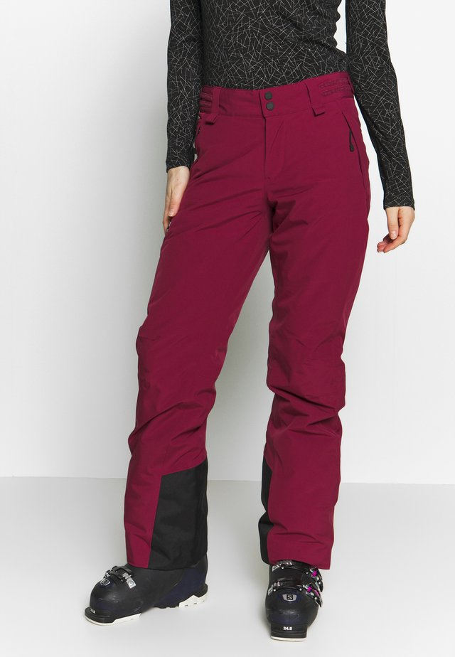 ANIMA  - Schneehose - dark red