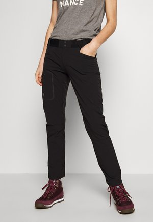 LIGHT SCALE PANT - Długie spodnie trekkingowe - black