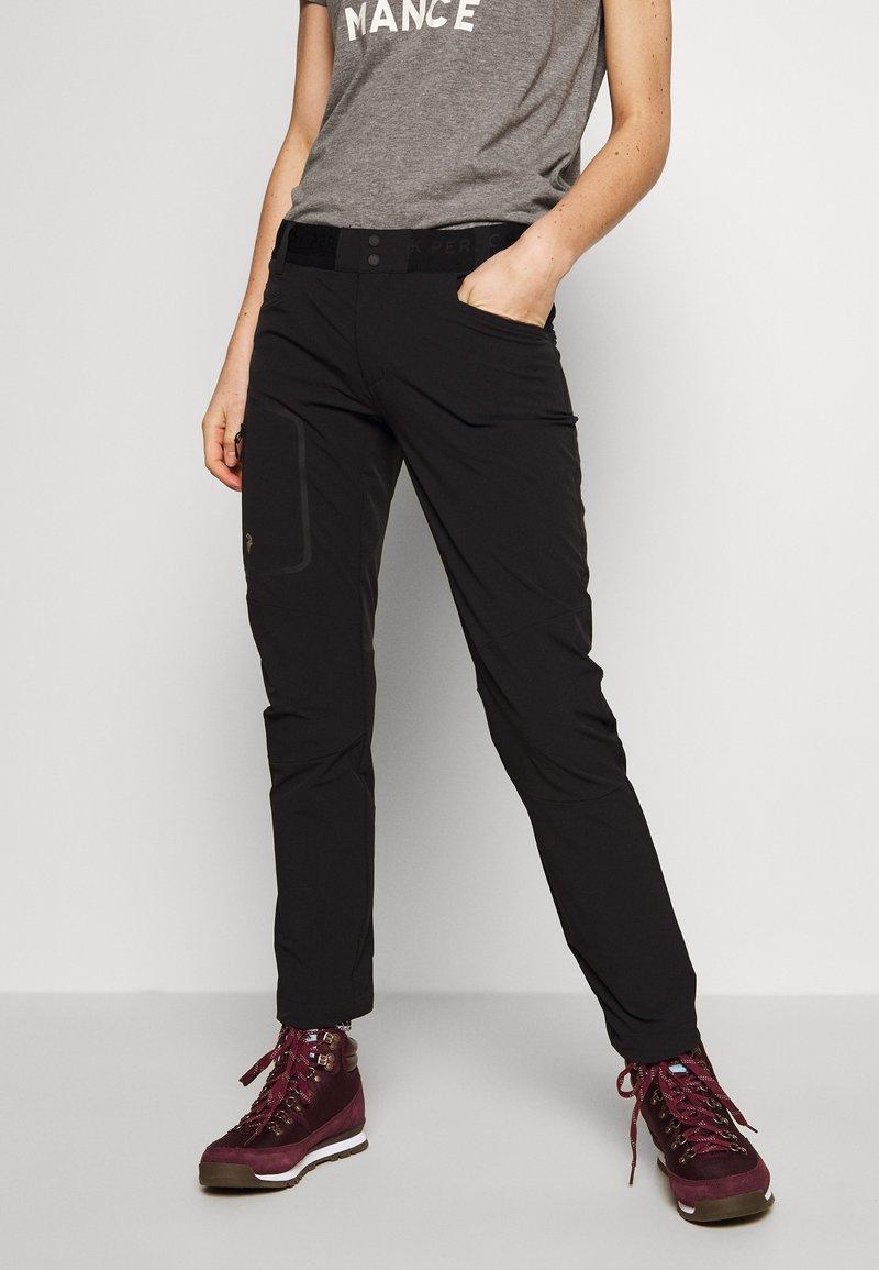 Peak Performance - LIGHT SCALE PANT - Outdoor trousers - black