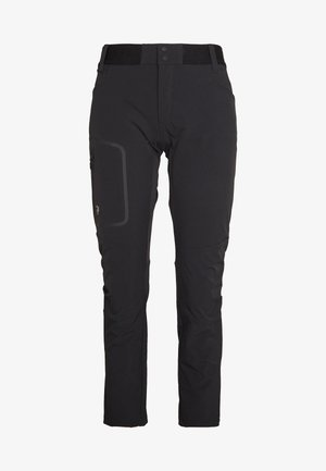 LIGHT SCALE PANT - Friluftsbukser - black