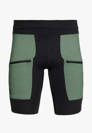 TRACK SHORTS - Collant - alpine tundra