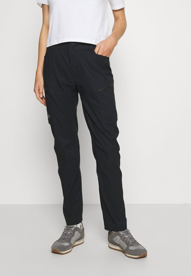 ICONIQ CARGO PANT - Trousers - black