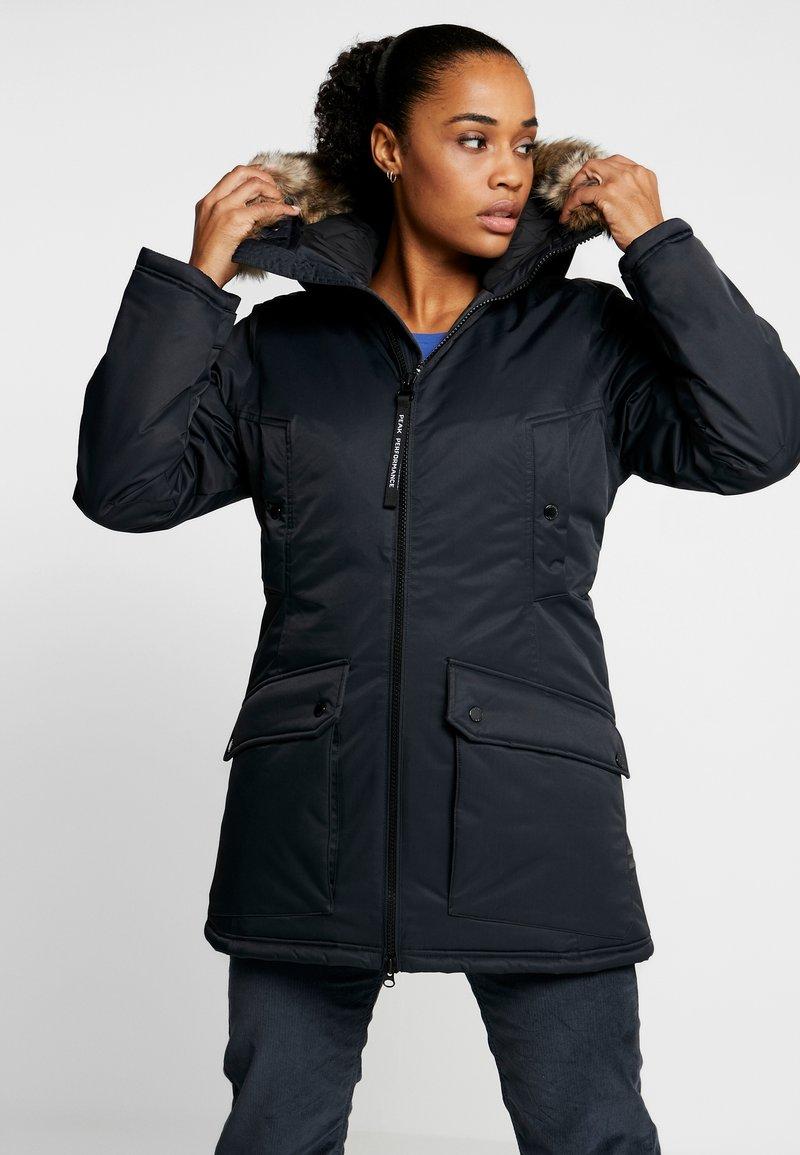 Peak Performance - LOCAL  - Zimní kabát - black