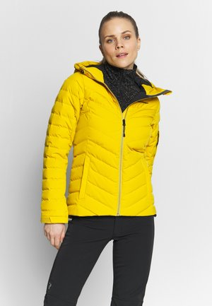 FROS - Snowboard jacket - yellow flow