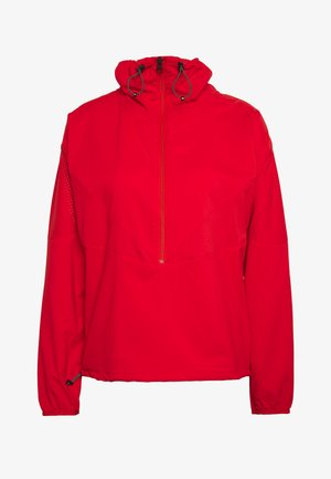 HIT HALF ZIP - Windbreaker - vibrant red