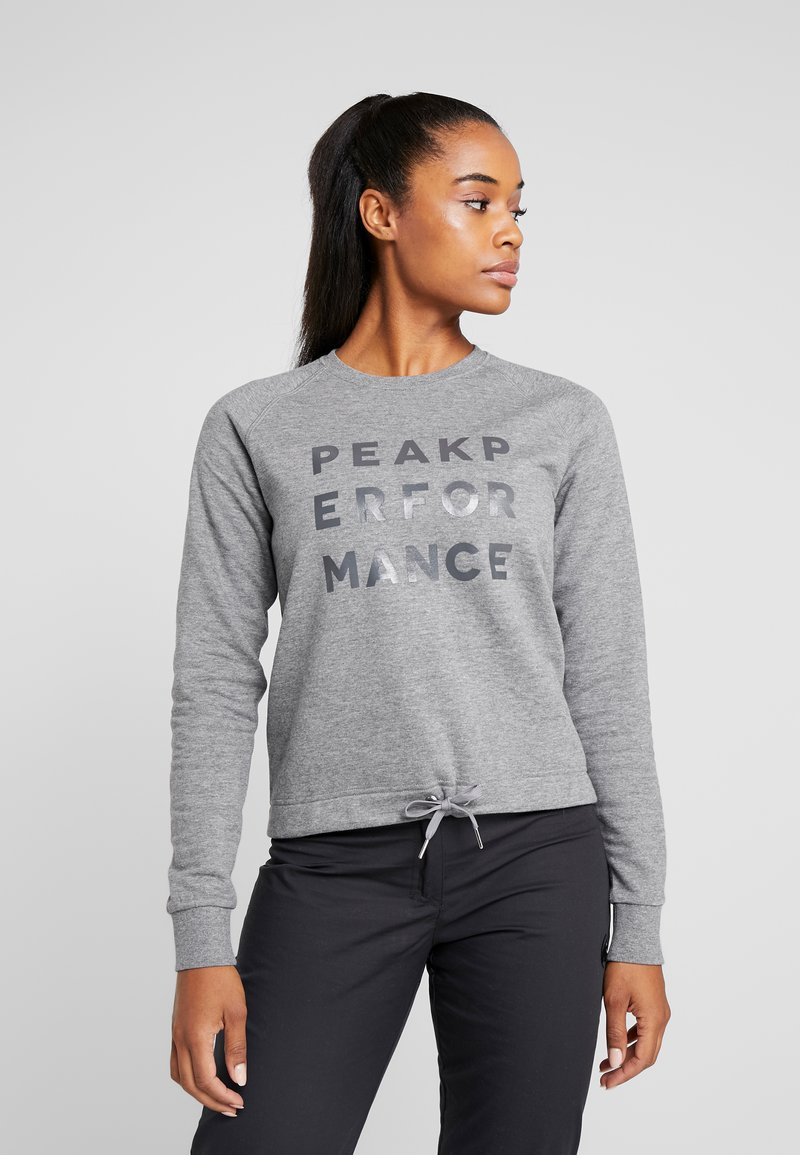 Peak Performance - GROUND  - Sweatshirt - grey melange
