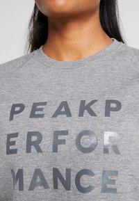 Peak Performance - GROUND  - Sweatshirt - grey melange - 5
