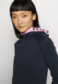 Peak Performance - RIDER ZIP HOOD - Fleece jacket - blue shadow - 4