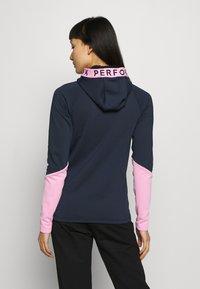 Peak Performance - RIDER ZIP HOOD - Fleece jacket - blue shadow - 2