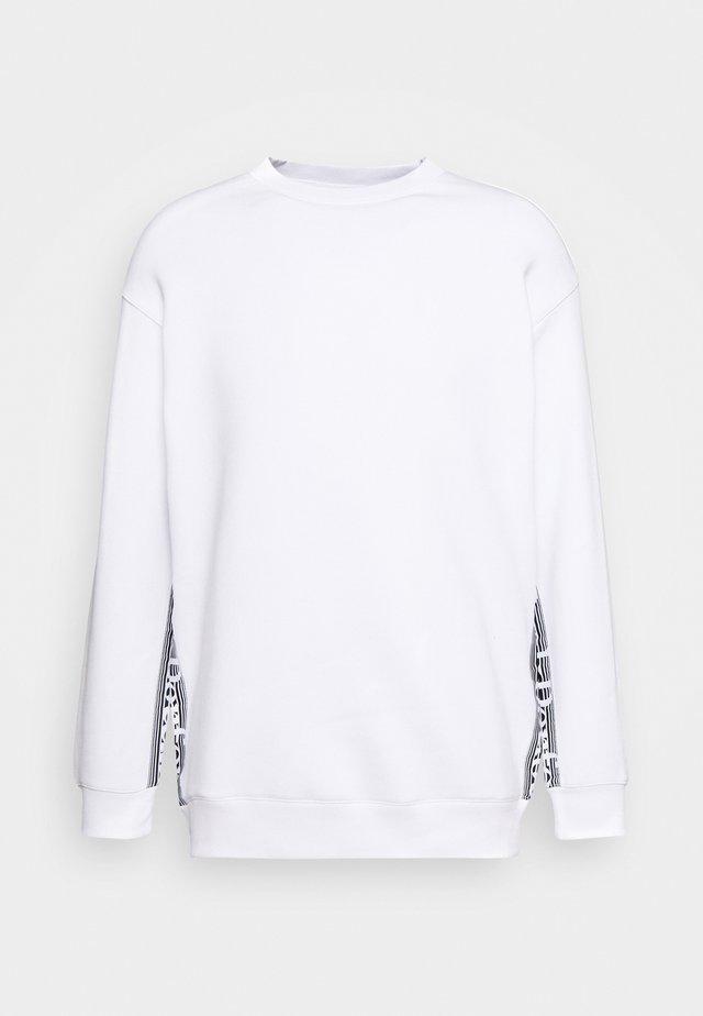 BOUNCE LOGO CREW - Sweatshirts - white