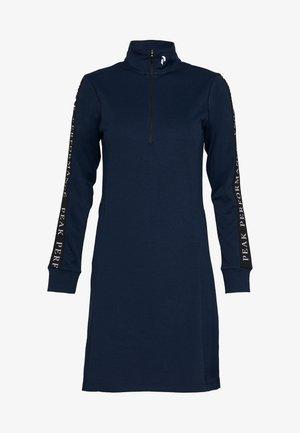 TURF DRESS - Jerseykjole - blue shadow