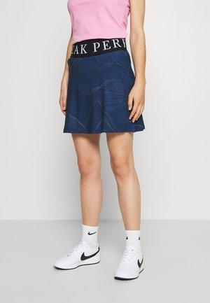 TURF SKIRT PRINT - Sportovní sukně - blue