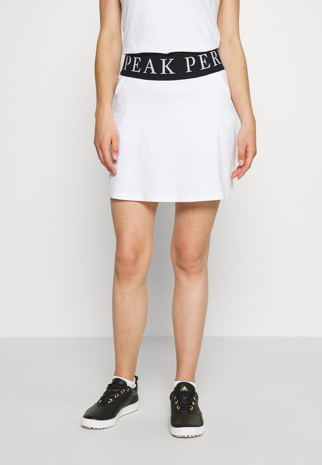 TURF SKIRT - Sports skirt - white