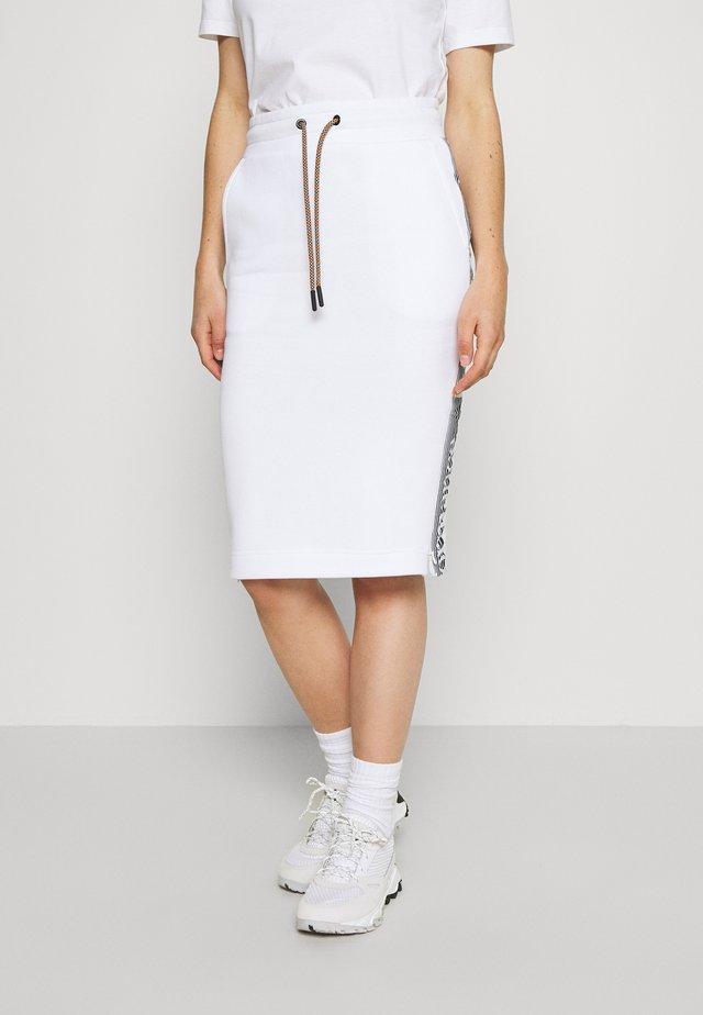 BOUNCE LOGO SKIRT - Rokken - white