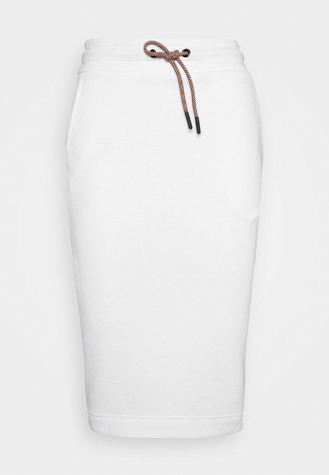 BOUNCE LOGO SKIRT - Sportsnederdel - white